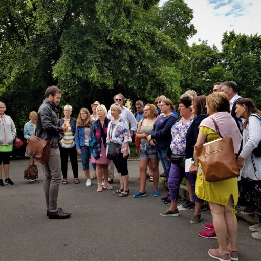 visita al parco Rom Agder